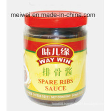 Bestseller Spare Ribs Sauce in Glass Bottle