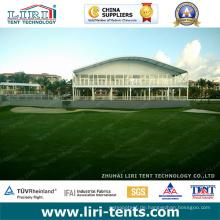Luxus im Freien Arcum-Dach-VIP-Aufenthaltsraum-Doppeldecker-Zelt für 2016 Puerto Rico PGA Golf-Ereignis