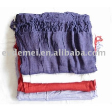 Дамы сплошной цвет шарф из пушмины фарфора