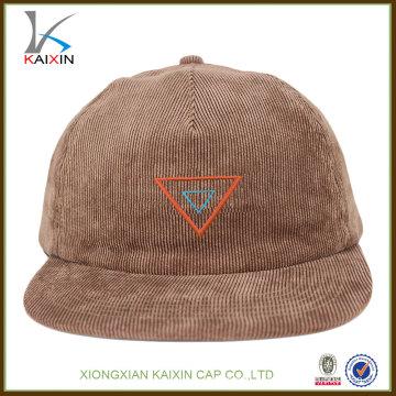 оптовая 5 панель вельвет пустой snapback шляпы