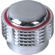 Смеситель ручки из пластика ABS с отделкой Крома (дя-3007)