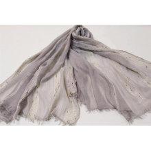popular Filigree trim  XL scarf  super soft hand feeling