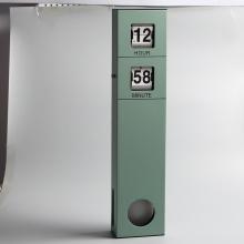 Long Pendulum Wall Flip Clock