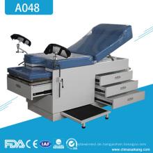 A048 Meidcal Gynäkologie Geburtshilfe Lieferung Bett Tabelle