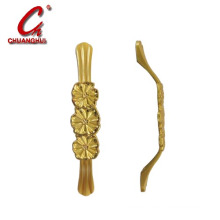 Hardware Furniture Cabinet Decorate Gold Planted Handle