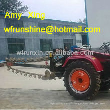 Tracteur trancheuse prise de force vente RXK120
