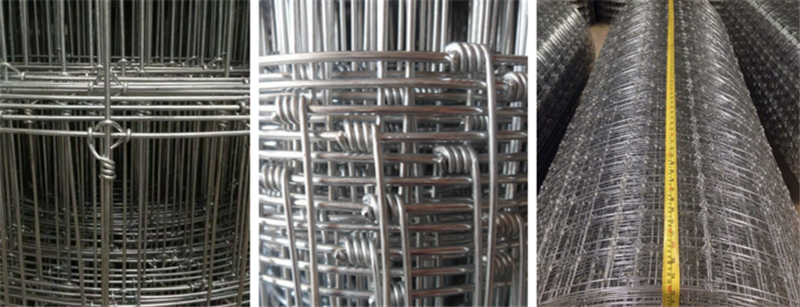 galvanized farm fencing