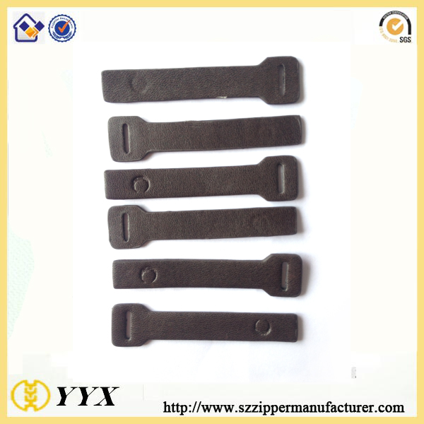 leather puller for slider