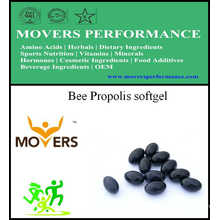Bee Propolis Softgel/Vegetable Softgel/No Preservatives