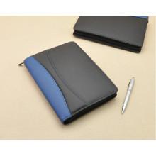Hochwertiges Bussiness Portable Design PU Portfolio Notebook