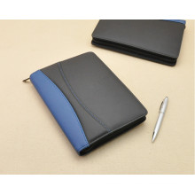 High Quality Bussiness Portable Design PU Portfolio Notebook