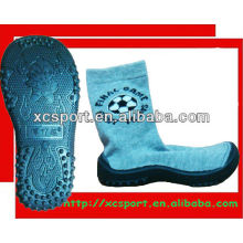 rubber sole shoes socks