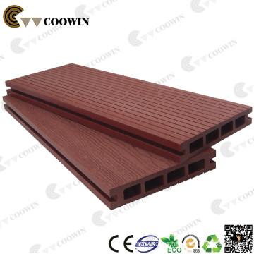 Plancha de plástico compuesta de madera falsa extrudida