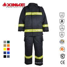 service Vêtements de protection Combinaison de lutte contre l'incendie