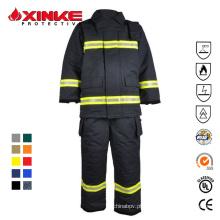 serviço Vestuário de protecção Vestuário de combate a incêndios