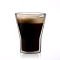 Latte Cappuccino Espresso Glassware Clear Glass Double Wall Cup