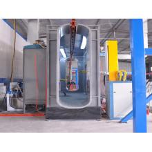 vertical powder coating Line for aluminium profile