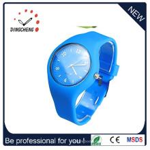Mode-Silikon-Quarz-Gelee-Süßigkeit-Armbanduhr (DC-1311)