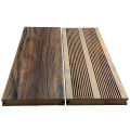 Outdoor 140x21mm solid prefab wpc decking