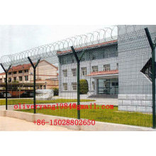 concertina roll razor barbed permanent security wire fence for airport or oil field protecting