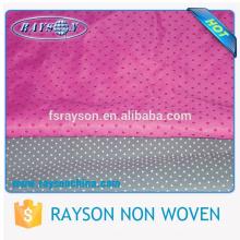 Slipper PVC Dotted Anti Slip Non Woven Non Slip Fabric