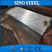 Hoja de techo de acero corrugado Galvanizado de baldosas de acero G350 Z60 Gi