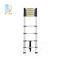 Escalera plegable de aluminio de 2,6 m y 8 escalones EN131-6