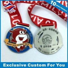 Custom Souvenir Medal Cheap Medal for Award with Ribbon