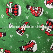 Top Quality Wholesale X′mas Decorative Fabric 100%Cotton