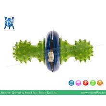 Juegos de perros de juguete dispensadores con pinchos de goma