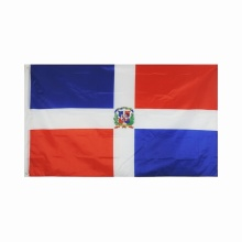 Großhandel 100% Polyester Dominicana National Banner Flags