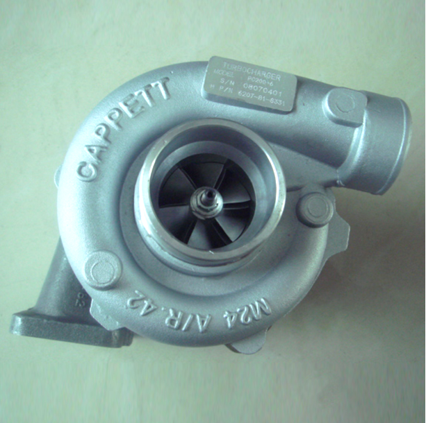 Replacement Komatsu Supercharger