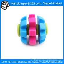 7cm Three Color Rotary Rollong Ball TPR Toys
