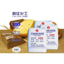 E171 Grado alimenticio estándar TiO2