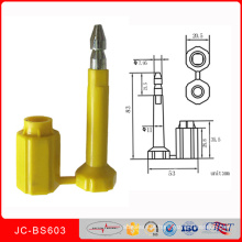 H certifica o selo Jcbs603 do parafuso do recipiente da porta do caminhão