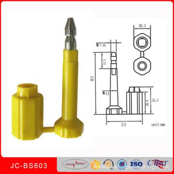 Selo do parafuso Jcbs-603 para o contentor