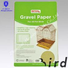Papel de madera respetuoso del medio ambiente de la arena del birdcage del producto del animal doméstico de China para las jaulas del animal doméstico