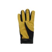 Deer Skin Leather Palm Mechanic Work Glove-7308