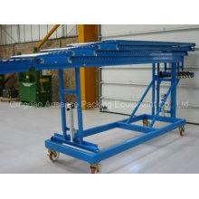 Schwerkraftfahrzeug-Entladewalzenförderer