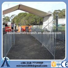 Preisvorteil geschweißt feuerverzinkt Crowed Control Barriere / Event Barriere