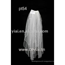 2010 new design elgant beaded wedding veil