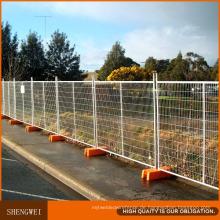 Temporärer Zaun 2.4X2.1m mit konkreter Basis und Klemme für Australien