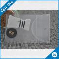 Bolsa de plástico transparente de PVC para el botón de repuesto de prendas de vestir