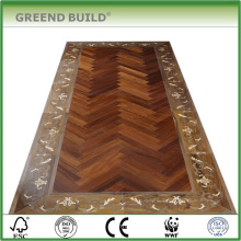 Jumbo size floor tile wood floor parquet