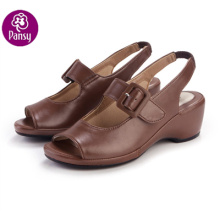 Pansy Comfort Shoes Back-belt Summer Sandals For Ladies