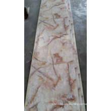 Los paneles de pared lavables del PVC de la hoja de la superficie del mármol del PVC de la decoración de la pared interior