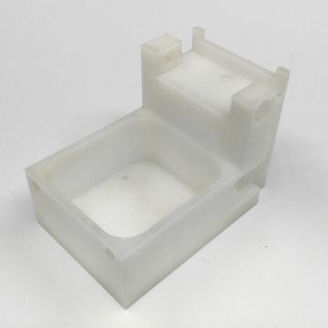 Peças de plástico do CNC feito à máquina