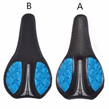 Memory Foam Leather Bicycle Saddle Cushion, Breathable, Comfortable Bike Saddle