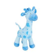 Juguetes de juguete de juguete de juguete de jirafa azul linda juguete de peluche para niños