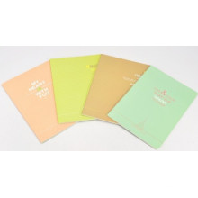 Notebook Stationery Soft Cover Exercise Book Colorful Cover